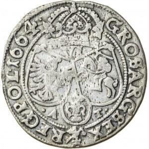 Jan Kazimierz (1649–1668), szóstak koronny, Bydgoszcz; 1664