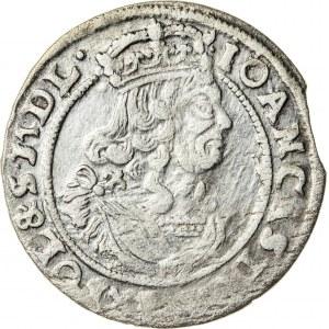 Jan Kazimierz (1649–1668), szóstak koronny, Bydgoszcz; 1666