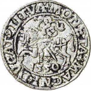 Zygmunt II August [1544 (1548) –1572], półgrosz litewski, Wilno; 1550