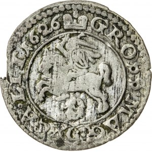 Zygmunt III Waza (1587–1632), grosz litewski, Wilno; 1626