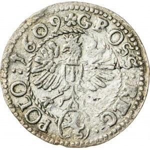 Zygmunt III Waza (1587–1632), grosz koronny, Kraków; 1609