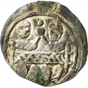 Bolesław Kędzierzawy (1146–1173), denar, Kraków lub Gniezno; 1146–1157