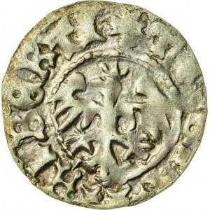 Jan Olbracht (1492–1501), półgrosz koronny, Kraków; 1492–1498