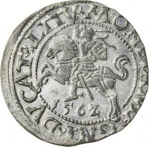 Zygmunt II August [1544 (1548) –1572], półgrosz litewski, Wilno; 1562