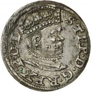 Stefan Batory (1576–1586), trojak ryski, Ryga; 1586, R