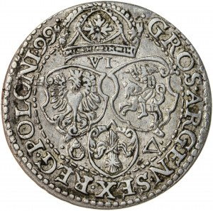 Zygmunt III Waza (1587–1632), szóstak koronny, Malbork, 1599, R1