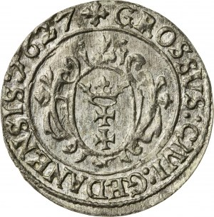 Zygmunt III Waza (1587–1632), grosz gdański, Gdańsk; 1627, R
