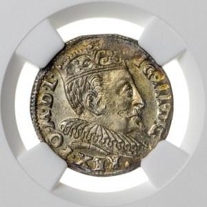 Zygmunt III Waza (1587–1632), trojak litewski, Wilno; 1595