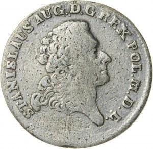 Stanisław August Poniatowski (1764–1795), dwuzłotówka koronna, Warszawa; 1768