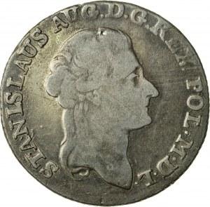 Stanisław August Poniatowski (1764–1795), złotówka koronna, Warszawa; 1793
