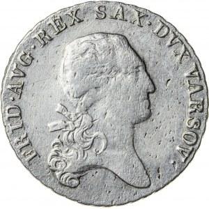 Księstwo Warszawskie, Fryderyk August (1807–1815), ⅓ talara (dwuzłotówka), Warszawa; 1812