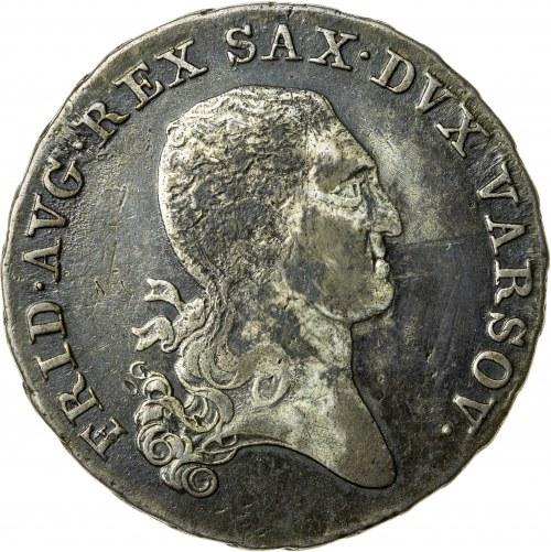 Księstwo Warszawskie, Fryderyk August (1807–1815), ⅓ talara (dwuzłotówka), Warszawa; 1814