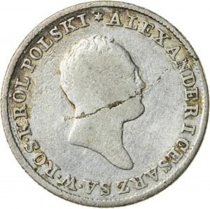 Królestwo Polskie, Aleksander (1815–1825), 1 złoty polski, Warszawa; 1822