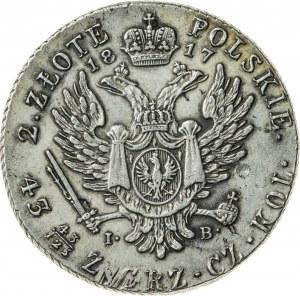 Królestwo Polskie, Aleksander I (1815–1825), 2 złote polskie, Warszawa; 1817