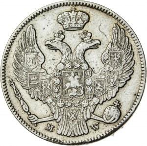 Królestwo Polskie, zabór rosyjski (1832–1841), Mikołaj I, 30 kopiejek / 2 złote, Warszawa; 1839