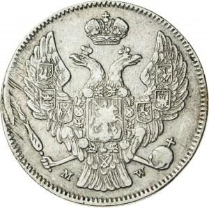 Królestwo Polskie, zabór rosyjski (1832–1841), Mikołaj I, 30 kopiejek / 2 złote, Warszawa; 1835