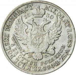 Królestwo Polskie, Mikołaj I (1825–1855), 5 złotych polskich, Warszawa; 1830