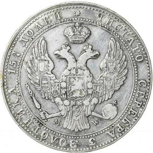 Królestwo Polskie, zabór rosyjski, Mikołaj I (1825-1855), 3/4 rubla / 5 złotych, Warszawa; 1838