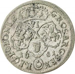 Jan III Sobieski (1674–1696), szóstak koronny, Bydgoszcz; 1681