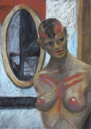 Maria Janiga, Przy lustrze
