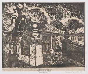 Irena Nowakowska-Acedańska (1909–1983), Krzemieniecki dwór, 1945