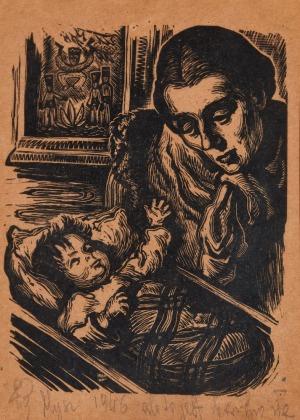 Maria HISZPAŃSKA-NEUMANN, MACIERZYŃSTWO, 1946