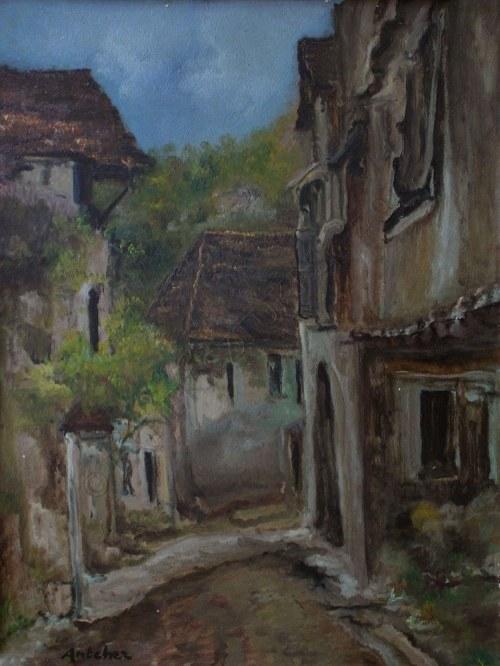 Isaac Antcher (1899-1992), Ulica w miasteczku