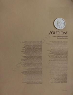 "Bolesław Cybis wg (1895-1957), Teka ""Folio One of American Indian Drawings""(1970, no 173/1000)"