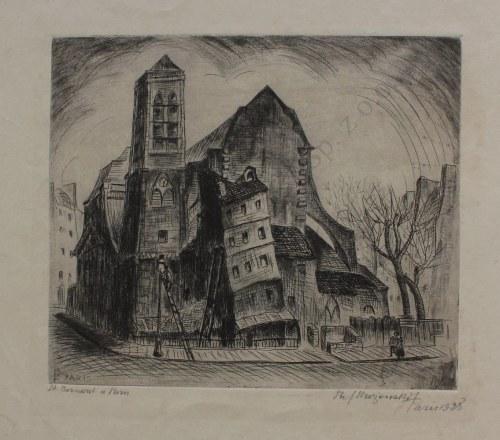 Stefan Mrożewski (1894-1975), St. Bernard à Paris (1928)