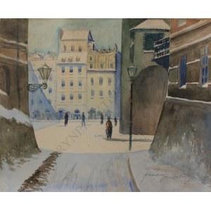 Franciszek Sunderland(XX w.), Stare Miasto w Warszawie (1928)