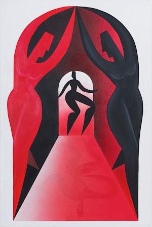 Małgorzata Rusiecka, Pasaż czerwony, 2019