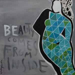 Aga Pietrzykowska (1978), Beauty comes from inside (2014)