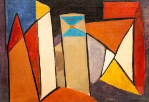Marek WŁODARSKI (1898 - 1960), Odjeżdżający okręt, 1948