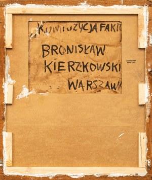 Bronisław KIERZKOWSKI (1924 - 1993), Kompozycja fakturowa, niedatowany
