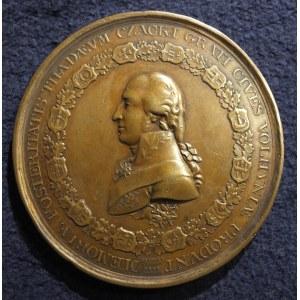 KRZEMIENIEC. Brązowa wersja medalu na cześć Tadeusza Czackiego