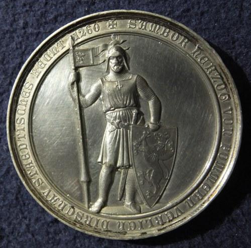 TCZEW. Cynowy medal wybity z okazji jubileuszu 600