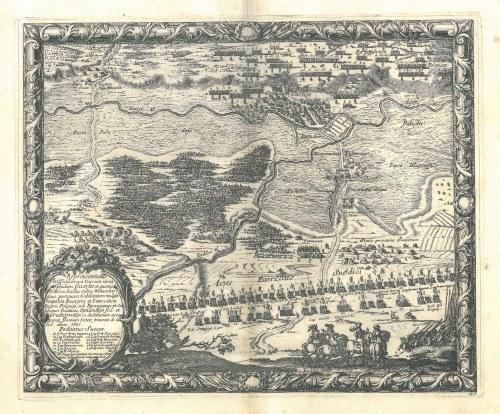 UJŚCIE. Plan bitwy pod Ujściem (24-25 VII 1655)