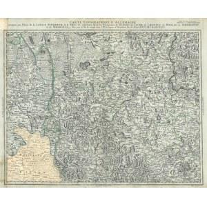 GŁOGÓW, JAWOR, LEGNICA, WOŁÓW, ŚWIDNICA. Mapa Topograficzna Dolnego Śląska