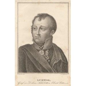 SŁOBITY, GDAŃSK. LUDWIG MORITZ ACHATIUS ZU DOHNA-SCHLOBITTEN (1776-1814), rys