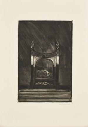 Konstanty Brandel (1880-1970), Le Tombeu - Grobowiec, 1912