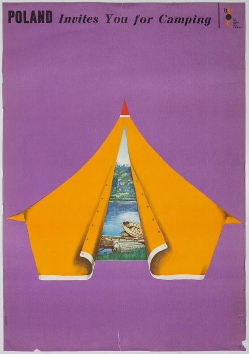 Maciej URBANIEC (1924-2004), Plakat - Camping