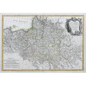Giovanni Antonio Rizzi-Zannoni, Carte generale de la Pologne avec tous les Etats…