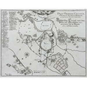 Isidor Affeita, Delin: Obsidionis Cracoviae, a polonis et austriacis formatae…