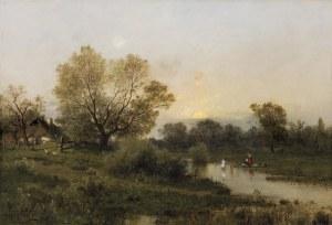 Sidorowicz Zygmunt, W LETNI DZIEŃ, 1880