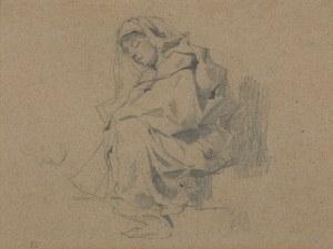 Brandt Józef, KOBIETA W CHUŚCIE, 1875-1876