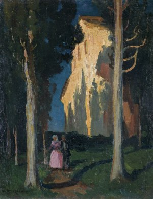 Stanisławski Jan, CYPRYSY. SAN MINIATO, 1903-1904
