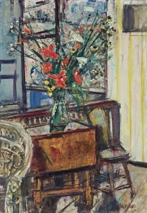 Menkes Zygmunt, KWIATY NA STOLIKU, 1957