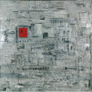 Witold PODGÓRSKI (ur. 1958), Bez tytułu, z cyklu: 100x100, 2018