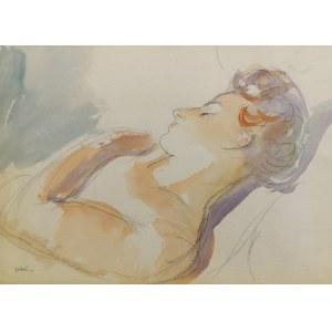 Wojciech WEISS (1875-1950), Śpiąca, ok. 1945