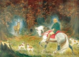 Władysław BOROWICKI (1909-1997), Święty Hubert